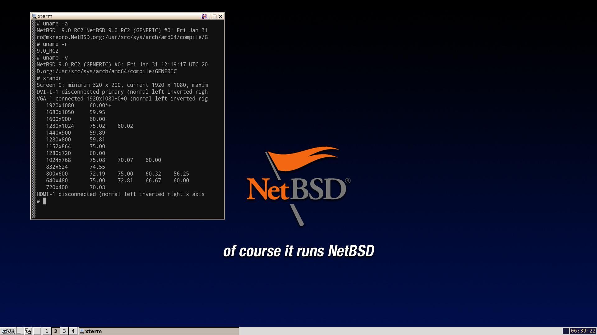 NetBSD NVidia GTX 550 Ti
